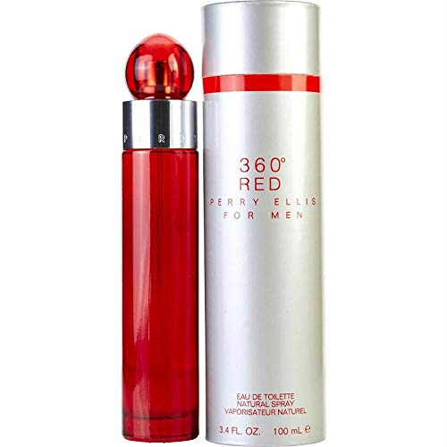 Perry Ellis 360 Red 3.4 Edt Sp For Men