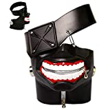 DA-HAPPY-DA 3D Tokyo Ghoul Kaneki Ken Mask Halloween Cosplay Props Adjustable Costume Masks