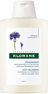 Klorane Anti -Yellowing Shampoo with Centaury for Blonde