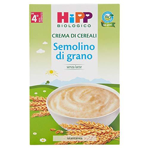 Hipp Crema di Cereali Semolino di Grano, 200g