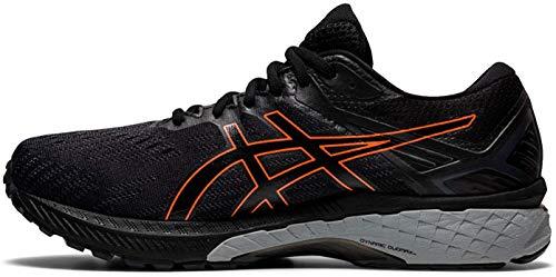 ASICS GT-2000 9 GTX, Zapatillas para Correr Hombre, Black Marigold Orange, 42.5 EU