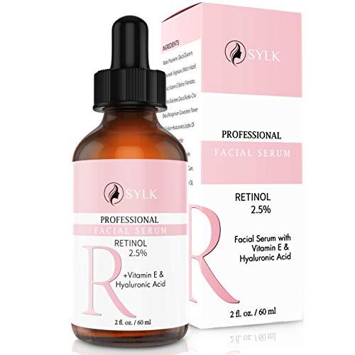 Retinol Hyaluron Serum Gesicht für Microneedling Hochdosiert + Hyaluronsäure + Vitamin E | 60ml