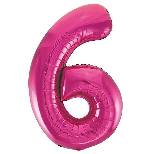 Folienballon im Zahlen-Design, groß, 86,3cm