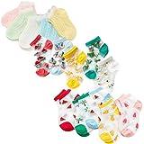 XM-Amigo, 15 paia di calzini da bambina, in cotone, traspiranti Girls01 6-8 Anni