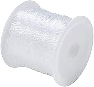 Beading Thread, 90m Clear Jewelry Bracelet String Nylon Thread 0.25 mm Invisible Wire for Beading jewelry Making and Fishing