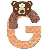Sevi - Lettre G - Grizzly - Bois - 83007