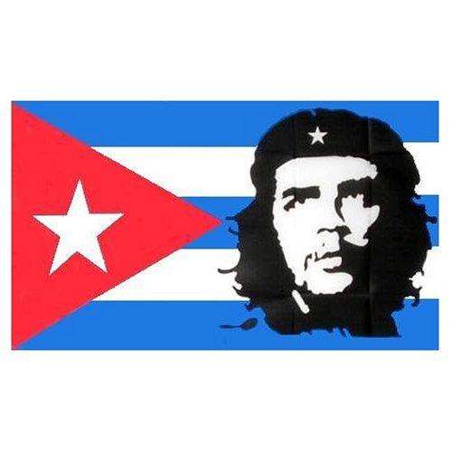 Kuba mit Che Guevara Flagge 90 * 150 cm