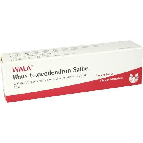 RHUS TOXICODENDRON SALBE 30g Salbe PZN:1451383