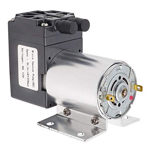 Mini-Vakuumpumpe, stabil und zuverlässig, hocheffizient, geräuscharm, Vakuumsaugpumpe für die Probenahme von...