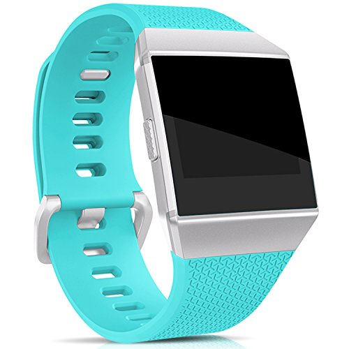 Hotodeal Band Compatible with Ionic Bands Waterproof,Replacement Sport Strap Accessory Wristbands Smartwatch, 13 Classic Colors Small Large