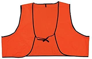 Safety Depot Low Cost Disposable High Visibility Safety Vest One Size Fits Most Multiple Colors Orange and Lime (Pack of 10, Orange)