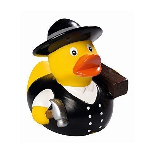 Mein Zwergenland Quietsche-Ente Quietscheente Badeente Bath Duck Zimmermann