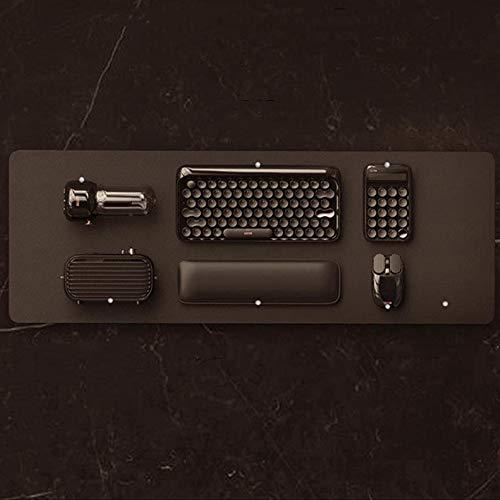 GWX draadloos toetsenbord business bluetooth, mechanisch toetsenbord van stijlvol zwart pak, spreker, muis, rekenmachine voor binnenkantoren, notitieboek