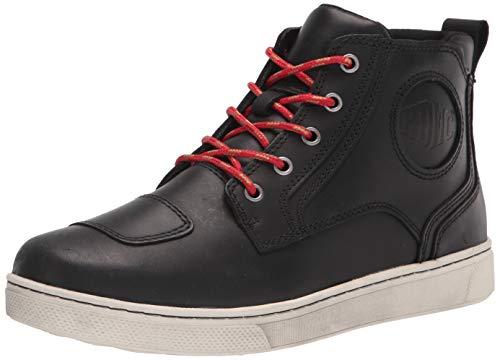 Harley-Davidson mens Bateman Ankle Pro Sneaker, Black, 8.5 US