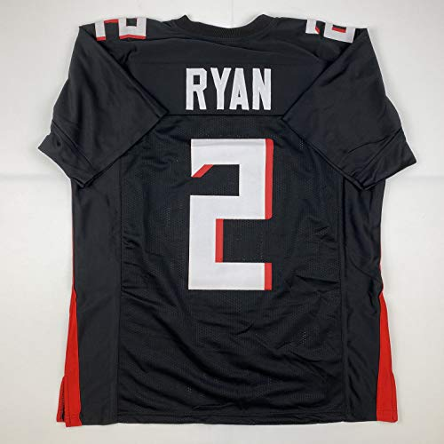 Unsigned Matt Ryan Atlanta Black 2020 Custom Stitched Football Jersey Size XL New No Brands/Logos