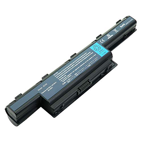 Battpit Laptop Battery Replacement for Acer Aspire 5560T Series TravelMate TM5740-X522DOF 8473Z Gateway NV59C41u NV-59C40 Packard Bell EasyNote TSX62HR Notebook Batteries 10.8V 6600mAh / 71Wh