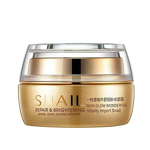 Best Korean Nature Snail Cream Face Skin Care Serum Anti Wrinkles Acne Day Night
