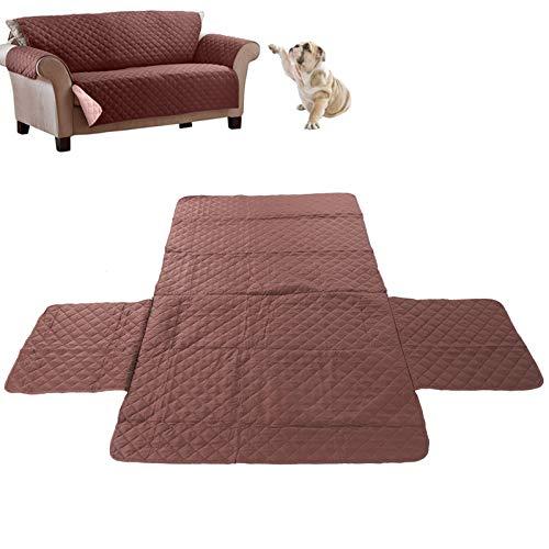 Jazar Funda de sofá para Mascotas, Funda de sofá Antideslizante Impermeable, Material de Tela, Funda para Mascotas, para Funda de sofá Funda de sofá Funda de(Double Seat)