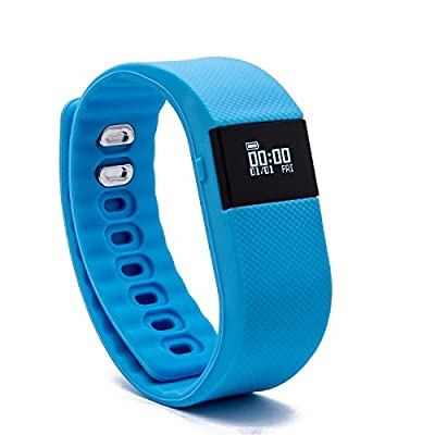 BlueWeigh Rainbow Fitness Activity Tracker with Sleep Monitor