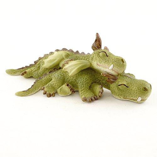 Top Collection Miniatur-Fairy Garden und Terrarium Mini Drachen Kuscheln Figur