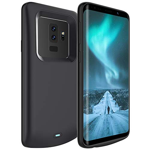 LOYTAL Battery Case for Samsung Galaxy S9 Plus, 5200mAh Rechargeable Extended Battery Charging Case, External Battery Charger Case, Add 100% Extra Juice