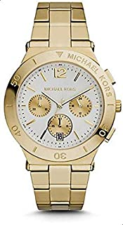 Michael Kors Mens Quartz Watch, Chronograph Display and Stainless Steel Strap MK5954
