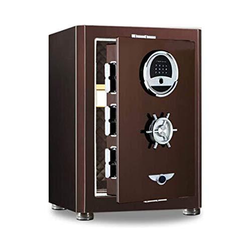 DJDLLZY Desvío Cajas fuertes manejo de dinero Productos Password Safe 60mm Archivo del Ministerio del Interior del arma Caja de almacenamiento for el hogar y la oficina (Color: Color de imagen, tamaño