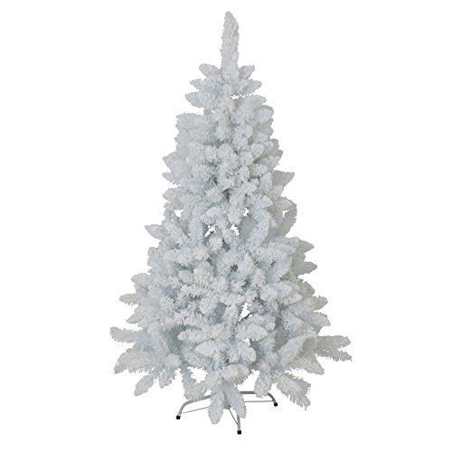 AUTOUR DE MINUIT 5SAP417BC - Árbol de Navidad (PVC, 107 x 107 x 180 cm), Color Blanco