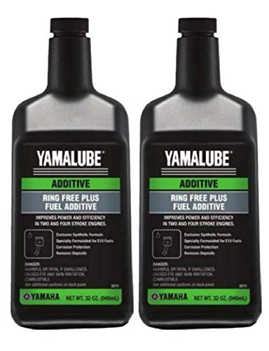 Yamaha Outboard Ring Free Plus Fuel Additive Quart (32 ounce) ACC-RNGFR-PL-32 (2 Pack)
