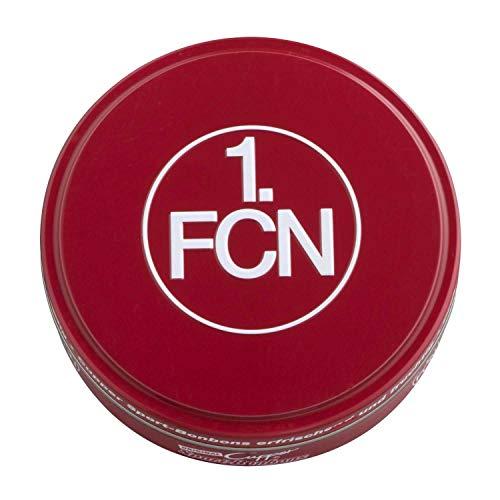1. FC Nürnberg Bonbons in dekorativer Metalldose FCN - Plus Lesezeichen Wir lieben Fußball