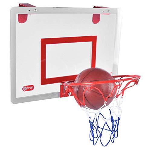 T-Day Juguete de Tablero de Baloncesto, Juguete Interactivo, Juguete para niños, Juego de aro de Tablero de Baloncesto para Interiores y Exteriores, Tablero Colgante para Montaje en Pared