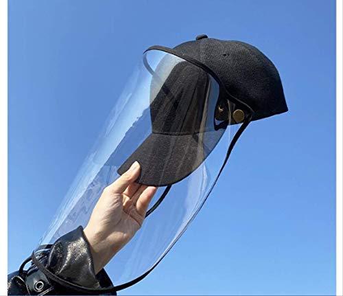 WSXD volledige bescherming tegen speeksel, stof, druppels, etc., mutsen, honkbalpetten, maskers, mutsen tegen virussen, kan meermaals worden gebruikt.