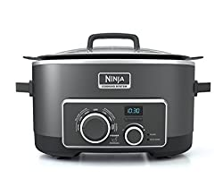 Ninja Multi-Cooker with 4-in-1 Stove Top, Oven, Steam and Slow Cooker