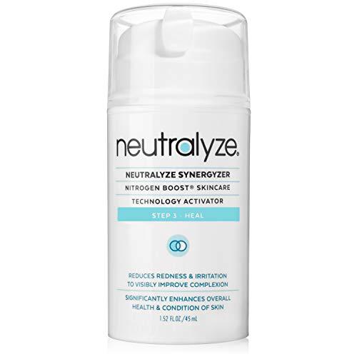 Neutralyze Synergyzer - Maximum Strength Anti Acne Inflammation Gel + Redness Control + Nitrogen Boost Skincare Technology Activator (1.5 oz)