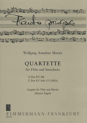 2 Quartette für Flöte und Streichtrio: für Flöte und