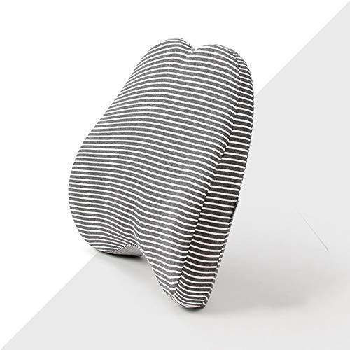 SEGIBUY Lumbar kussen rugsteun kussen - Ergonomisch Lumbar kussen Bescherm en kalmeer je rug, geschikt voor autostoel en bureaustoel