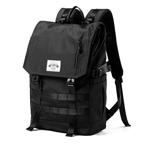 JXZHYM Large Capacity Oxford Bags Waterproof Hiking Backpack Cool Sports Backpack Laptop Rucksack,can Convert 3 Forms,fits Up To 17.3in Laptop (black)