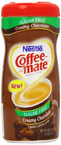 Nestle - Crema di cioccolato senza zucchero per caffè Coffee Mate, 425.2 g, 2 pz.