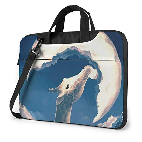 XCNGG Laptop Bag, Piano Fish Cat Boy Business Briefcase Protective Bag Cover for Ultrabook, MacBook, Asus, Samsung, Sony, Notebook 15.6 inch