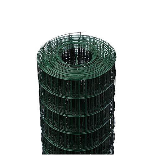 ROTOLO 25 m RETE METALLICA ZINCATA PLASTIFICATA ELETTROSALDATA PER RECINZIONE (200 cm)