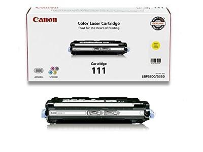 Canon Genuine Toner, Cartridge 111 Yellow (1657B001), 1 Pack, for Canon Color imageCLASS MF9150c, MF9170c, MF9220Cdn, MF9280Cdn Laser Printers