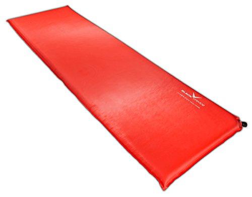 Black Crevice selbstaufblasbare Luftmatratze, rot, 7 cm