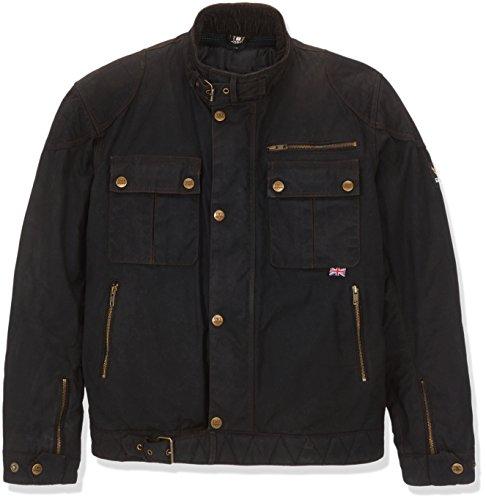 Bores Trophy Veste Pro 1 Classic Cire noire homme textile Veste Noir Taille 5 X L