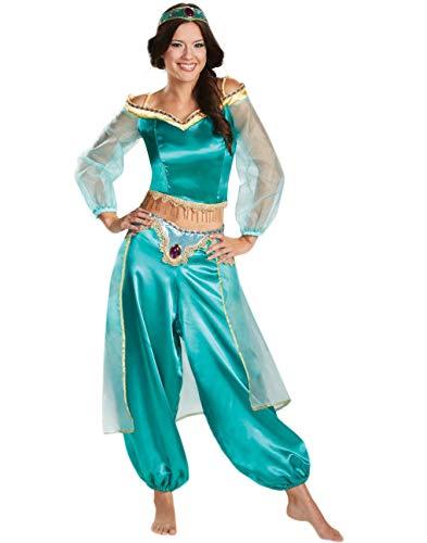 Fortuning's JDS Mujeres Fiesta de Halloween Vestido de Princesa Aladdin Banda para...