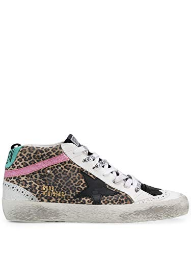 Golden Goose Luxury Fashion Damen GWF00122F00026180266 Braun Leder Hi Top Sneakers | Herbst Winter 20