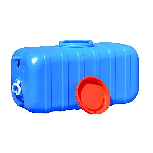 DEJA Horizontal Water Tank, Rectangular Car Water Tank, Thick Plastic Water Storage Container, Household Outdoor Bucket, Acid and Alkali Resistant (Size : 70L)