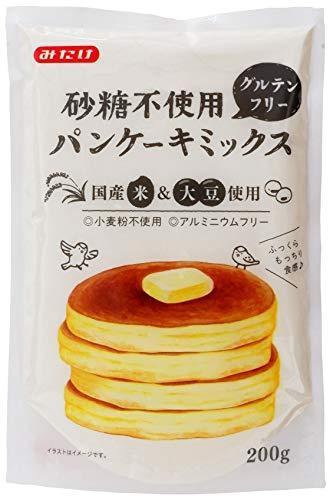みたけ 砂糖不使用パンケーキミックス 200g ×6袋