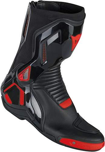 Dainese Stiefel Course D1 Out, schwarz/rot-fluo, Größe 44