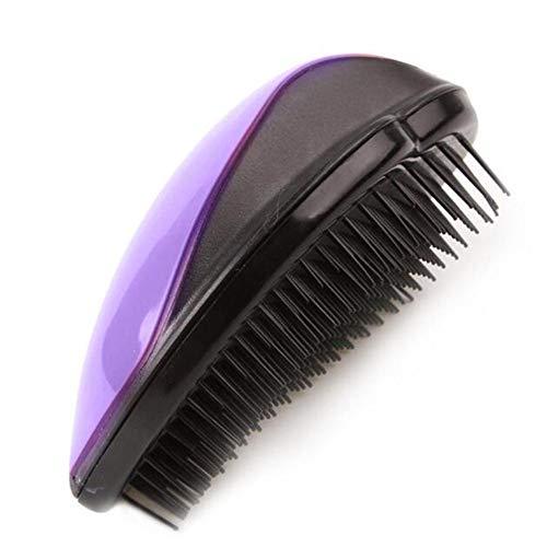 Massage Du Cuir Chevelu cheveux Massage du cuir chevelu Brosse Brosse À cheveux Style Carré Peigne En forme de lèvres Peignes purple