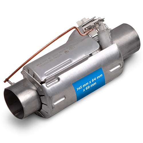 Elemento calefactor calentador de agua 1800 W de repuesto para lavavajillas Arcelik Beko 1888150100 lavavajillas Zanussi Privileg Blomberg Ignis